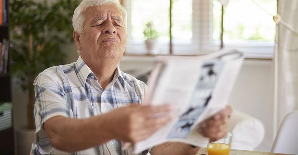 Facilite a vida de idosos com baixa visão com 6 cuidados essenciais!